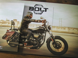 Yamaha Bolt Brochure