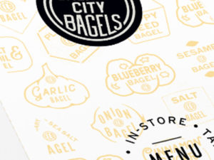 Emerald City Bagels menu